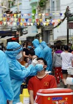 Đến ngày 25/8, TP Hồ Chí Minh sẽ hoàn thành xét nghiệm diện rộng toàn TP đợt 1