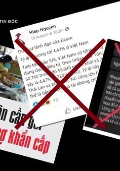 Virus tin độc: Âm mưu xuyên tạc chiến lược vaccine, phủ nhận kết quả chống COVID-19 của Việt Nam