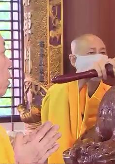 Không khí Lễ Vu Lan trong nhà chùa tại Huế