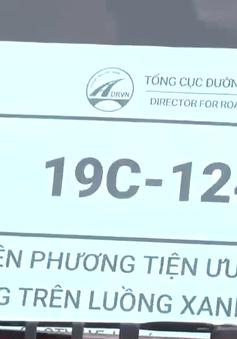 """Thanh Hoá kiểm soát chặt xe """"luồng xanh"""""""