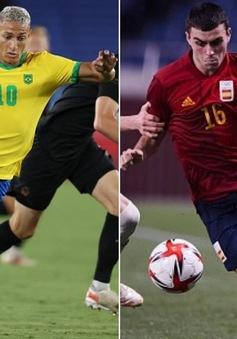 Olympic Brazil - Olympic Tây Ban Nha: Chung kết môn bóng đá nam Olympic Tokyo (18h30 trên VTV6, VTV9 và VTVGo)