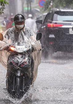 Bắc Bộ, Tây Nguyên, Nam Bộ có mưa rào và dông, đề phòng thời tiết nguy hiểm