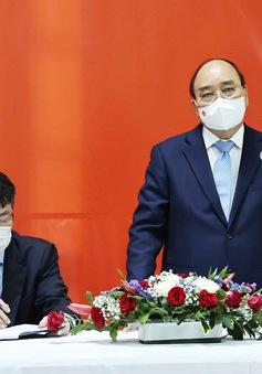 Lãnh đạo Việt Nam - Cuba bàn việc cung cấp, chuyển giao công nghệ vaccine COVID-19