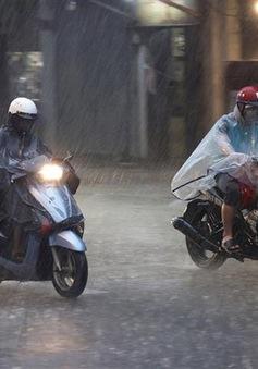 Trung Bộ, Tây Nguyên và Nam Bộ mưa to tập trung vào chiều tối