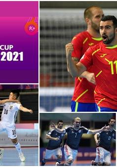 Lịch thi đấu và trực tiếp Vòng 1/8 FIFA Futsal World Cup Lithuania 2021™ hôm nay: Tâm điểm Bồ Đào Nha, Tây Ban Nha