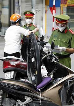 Hà Nội: 6 nhóm đối tượng dự kiến được cấp giấy đi đường sau ngày 6/9