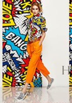 Sắc màu nổi bật Love Moschino 2014