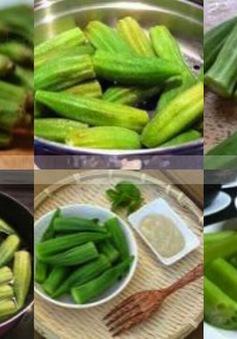 Đậu bắp sốt chao ngon bổ dưỡng