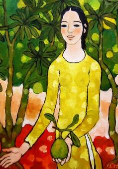 4.000 USD cho bức tranh bán đầu tiên ở triển lãm Nhân ái
