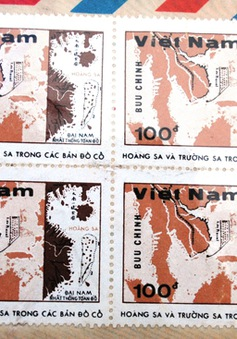 Bộ tem quý về Hoàng Sa và Trường Sa