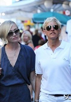 Bất đồng trong hôn nhân, vợ Ellen DeGeneres vào trại cai nghiện