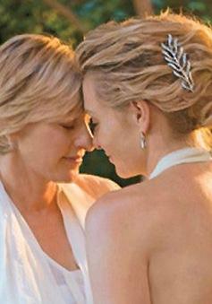 Ellen DeGeneres bỏ rượu vì vợ
