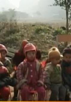 """Chương trình """"Áo ấm mùa đông"""" tại Cao Bằng"""
