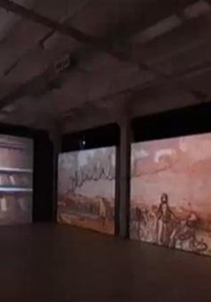 Khám phá tranh Van Gogh bằng công nghệ chiếu sáng