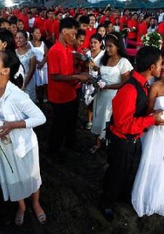 Ngày Valentine ở nơi siêu bão Haiyan đã đi qua