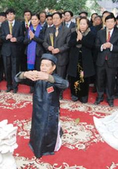 Lễ hội kỷ niệm Đức Thủy tổ tại Bắc Ninh