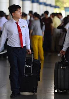 Vietnam Airlines cấm tổ bay mang vali to ra nước ngoài