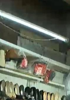 Mất an toàn phòng cháy tại chợ Chúc Sơn, Hà Nội