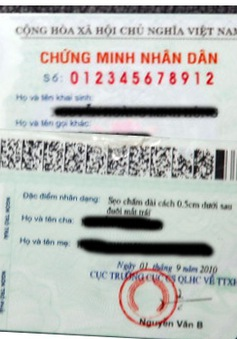 Hà Nội chưa triển khai đồng loạt cấp CMND mẫu mới từ 1/4