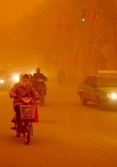 Bão cát mạnh nhất trong vòng 20 năm tấn công Trung Quốc