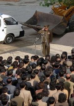 Chính quyền Triều Tiên xin lỗi về vụ sập nhà