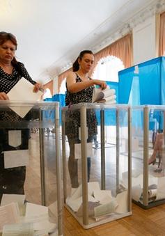Bầu cử Tổng thống Ukraine: 50-60% số cử tri đi bỏ phiếu