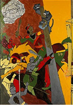 Triển lãm tranh của danh họa MF Husain tại London