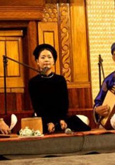 Liên hoan ca trù toàn quốc sẽ diễn ra tại Hà Nội