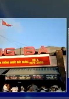 Vỡ hụi tại chợ Đông Ba, nhiều tiểu thương đã đóng cửa hàng