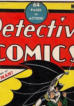 Kỳ vọng thu 300.000 USD từ bản sao truyện tranh Batman