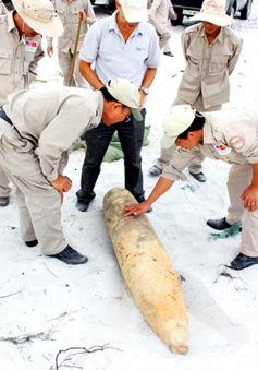 Quảng Trị: Phá hủy thành công 400 vật liệu nổ