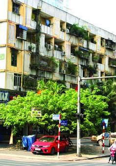 Hôm nay (12/8), sẽ kiểm tra chung cư cũ nát tại Hà Nội