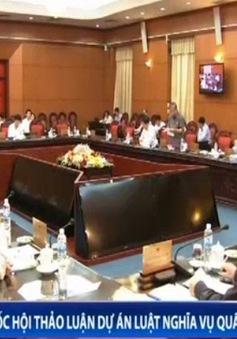 Quốc hội thảo luận Dự án luật Nghĩa vụ quân sự sửa đổi