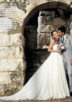 Chùm ảnh cưới đẹp như mơ của Novak Djokovic