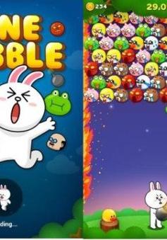 Bộ 3 Line dẫn đầu thị trường game smartphone
