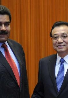 Tổng thống Venezuela gặp Thủ tướng Trung Quốc