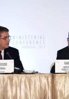 Hội nghị Bộ trưởng WTO: Thảo luận các biện pháp kích thích thương mại