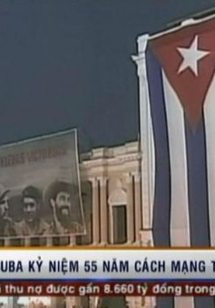 Cuba kỷ niệm 55 năm Cách mạng thành công