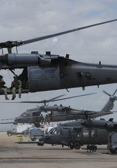 Máy bay quân sự Mỹ gặp nạn, 4 phi công thiệt mạng