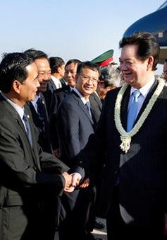 Thủ tướng thăm và làm việc tại Campuchia
