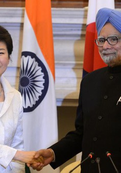 Ấn Độ và Hàn Quốc tăng cường quan hệ song phương