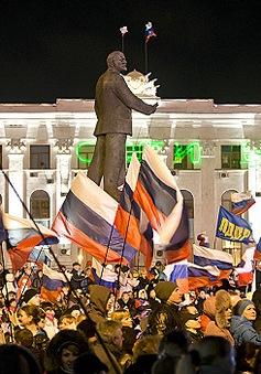 Nga ủng hộ kết quả trưng cầu dân ý của Crimea