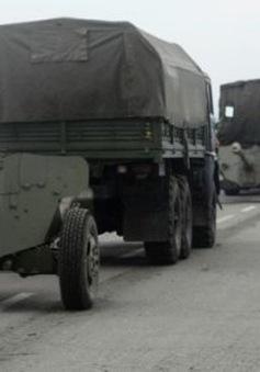 Ukraine: Lực lượng an ninh tấn công các vị trí người biểu tình chiếm giữ ở Kramatorsk