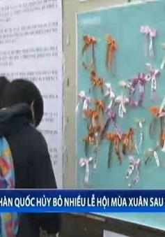 Hàn Quốc hủy bỏ nhiều lễ hội mùa xuân sau vụ chìm phà