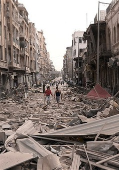 Chiến sự bùng phát tại Syria