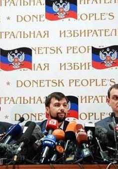 Donetsk không tham gia bầu cử Tổng thống Ukraine