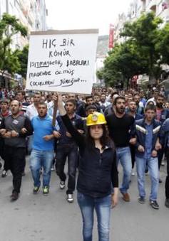 Thổ Nhĩ Kỳ bắt 5 người liên quan đến tai nạn hầm mỏ
