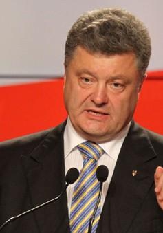 Tổng thống Ukraine đề xuất ngừng bắn