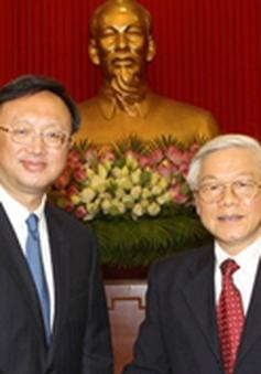 Tổng Bí thư tiếp Ủy viên Quốc vụ Trung Quốc