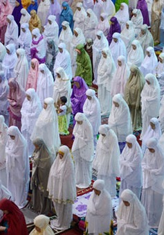 Indonesia bắt đầu tháng lễ Ramadan